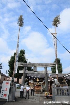 山王神社(足立区保木間)1