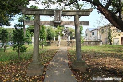浅間神社(足立区花畑)7