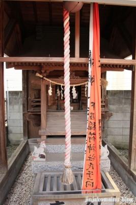 稲荷大明神(足立区南花畑)6