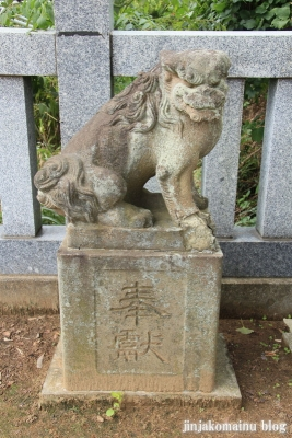 稲荷神社(足立区一ツ家)19