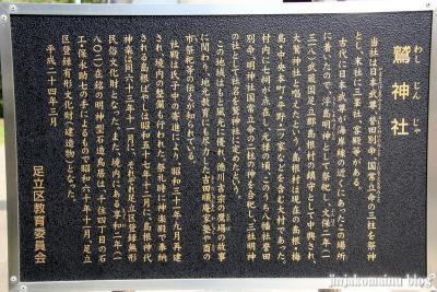 鷲神社(足立区島根)5