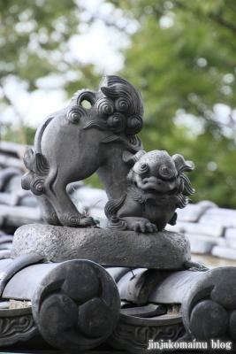 八幡神社(足立区六月)16