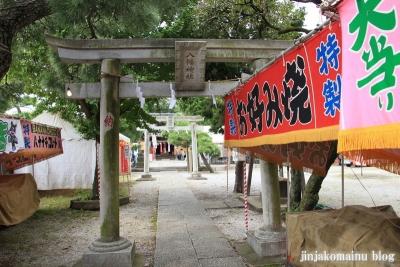 八幡神社(足立区六月)5