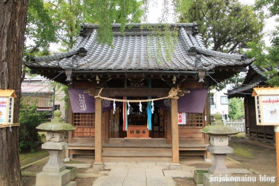 栗原氷川神社(足立区栗原)9
