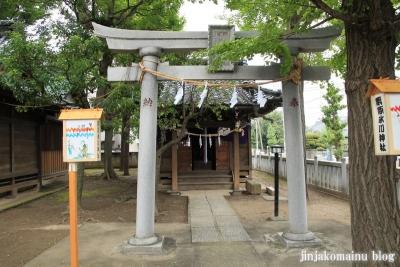 栗原氷川神社(足立区栗原)13