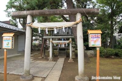 栗原氷川神社(足立区栗原)18