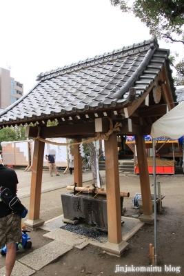 栗原氷川神社(足立区栗原)6