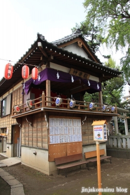 栗原氷川神社(足立区栗原)7