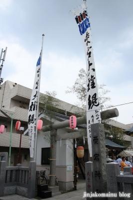 愛宕神社(足立区青井)1
