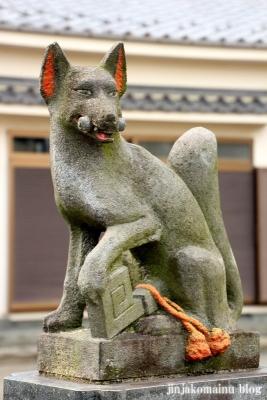 四ツ家稲荷神社(足立区青井)6