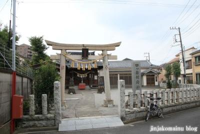 四ツ家稲荷神社(足立区青井)1