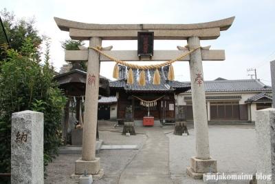 四ツ家稲荷神社(足立区青井)3