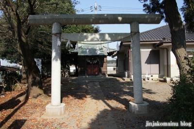 第六天神社(上尾市須ヶ谷)3