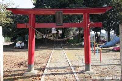 稲荷神社(北足立郡伊奈町小針新宿)2