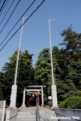 氷川神社(桶川市坂田)1