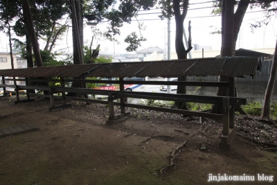 八雲神社(桶川市坂田)7