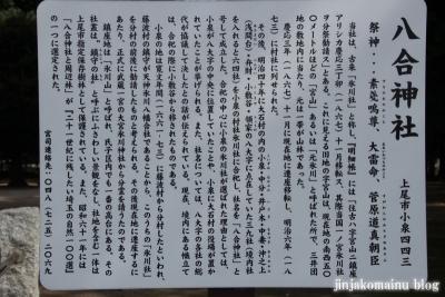 八合神社(上尾市小泉)2