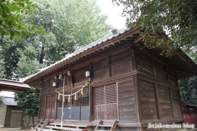 八合神社(上尾市小泉)10