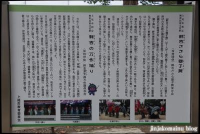 諏訪神社(上尾市畦吉)7