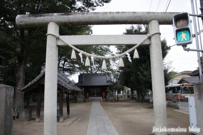 橘神社(上尾市平方)2