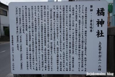 橘神社(上尾市平方)3