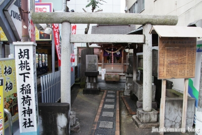 胡桃下稲荷神社(上尾市柏座)2
