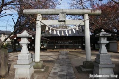 神明社(上尾市向山)2