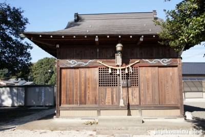 氷川神社(上尾市地頭方)2