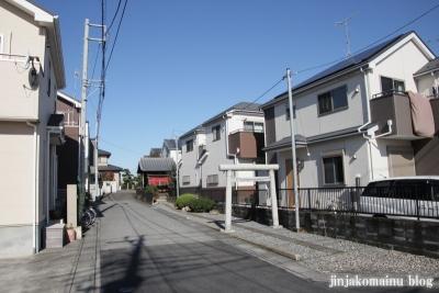 稲荷神社(上尾市堤崎)1