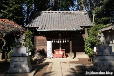加茂神社(さいたま市北区宮原町)10