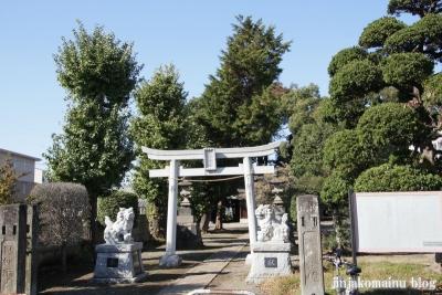 本郷神社(さいたま市北区本郷町)1