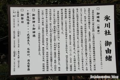 氷川神社(さいたま市見沼区東大宮)2