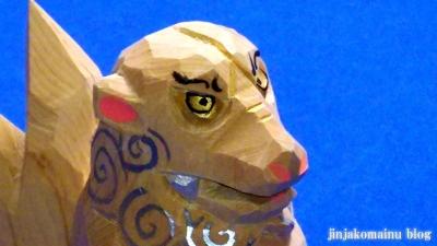 一刀彫狛犬5
