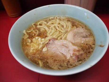 170128_中山駅前_小ラーメン_麺3分1_ヤサイヌキニンニク少し