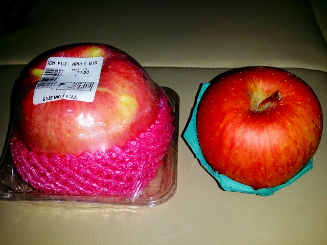 リンゴ富士