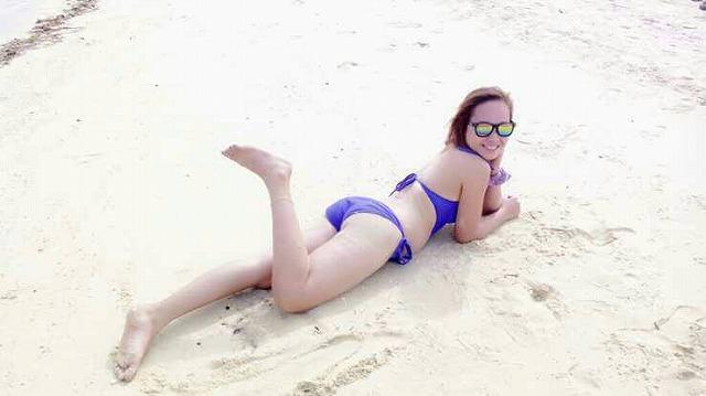 セブの浜辺