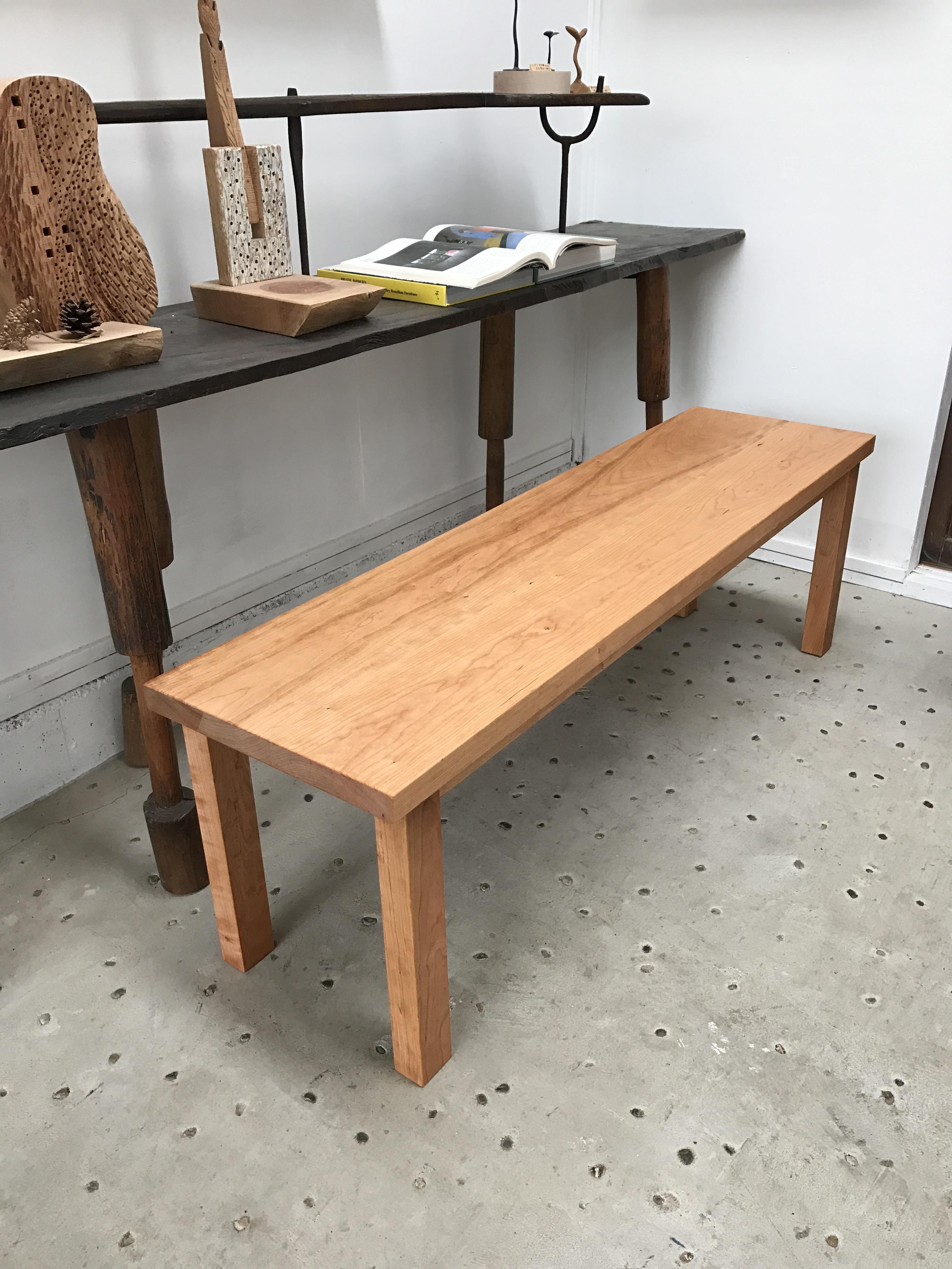 那須高原 じざい工房 小林康文のテーブル・ベンチ
