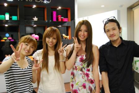 Keen London+Tokyo-sayaka & MAMI from HOUSE NATION Dancers