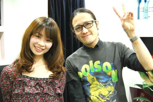 Keen London+Tokyo  hairdresser & photographer's bolg-PARADISO サイトウ×MORE読モ 季絵