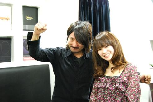 Keen London+Tokyo  hairdresser & photographer's bolg-PARADISO 池田×MORE読モ 季絵