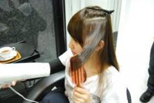 Keen London+Tokyo  hairdresser & photographer's bolg-連載!!ブラシを使ったヘアスタイリング講座 no.05