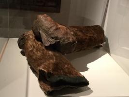 鮭皮ブーツ
