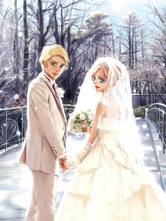 トキ&ロイ結婚式(光有り