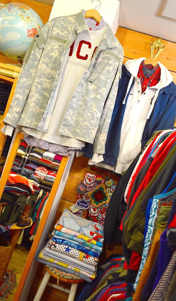 東京都北区王子の古着屋カチカチ店内画像06