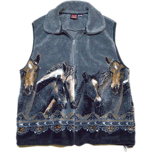 UsedフリースベストFleece Vest@古着屋カチカチ02