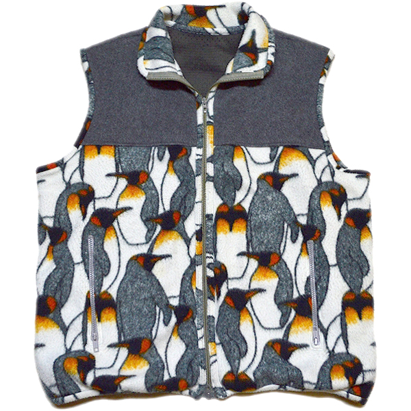 UsedフリースベストFleece Vest@古着屋カチカチ03