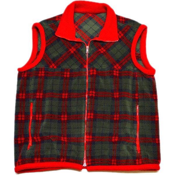 UsedフリースベストFleece Vest@古着屋カチカチ04