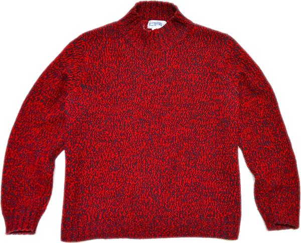 柄物ニットセーター画像コーデ2017冬@古着屋カチカチ03