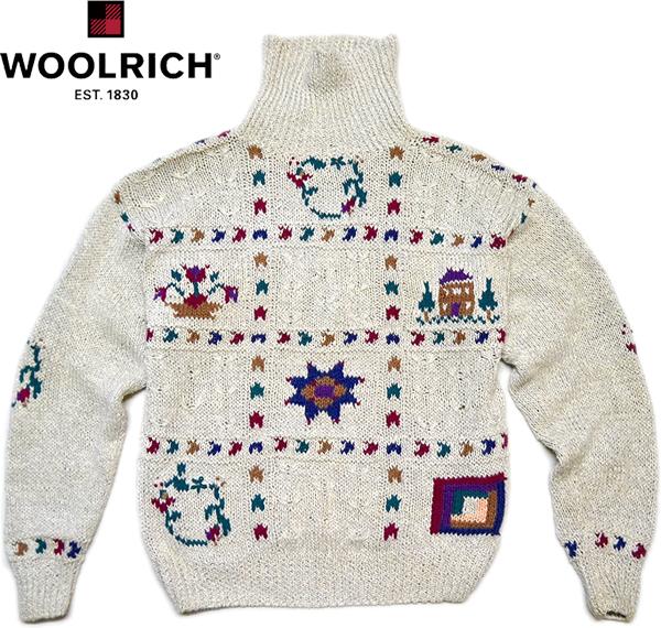 柄物ニットセーター画像コーデ2017冬@古着屋カチカチ015