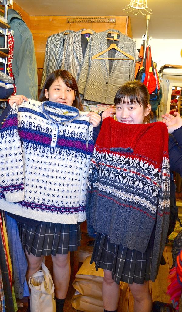 バレンタインデー セーター無料プレゼント画像@古着屋カチカチ02